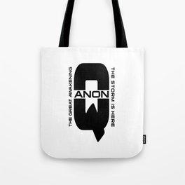 QANON Tote Bag