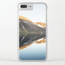 Midnight symmetry Clear iPhone Case