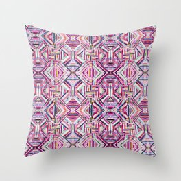 LINEA 040 Abstract Collage Throw Pillow
