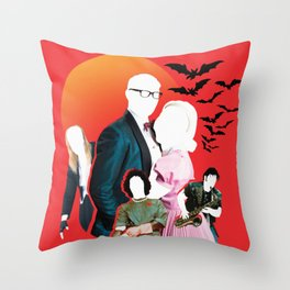 Rocky Horror Picture Show (Original Collage) Throw Pillow
