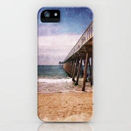 California Pacific Ocean Pier iPhone Case