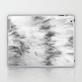Marabou Feathers Laptop & iPad Skin