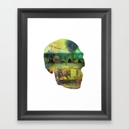 Shapes Of The Future: III Framed Art Print