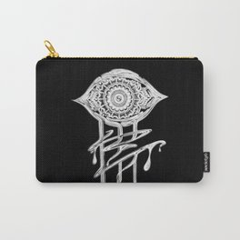 God's Eye (bnw) Carry-All Pouch