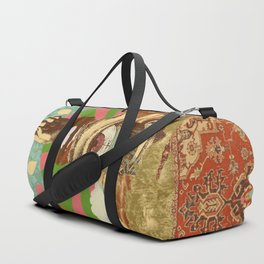 AFTERNOON PSYCHEDELIA Duffle Bag