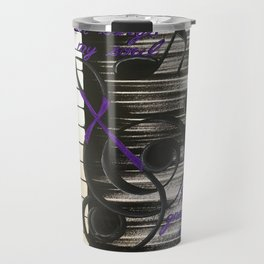 Music  Art Travel Mug