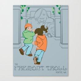 The Fremont Troll Canvas Print