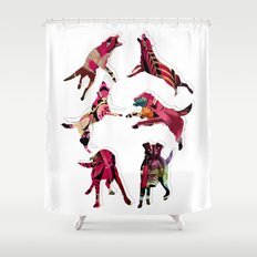 perros Shower Curtain