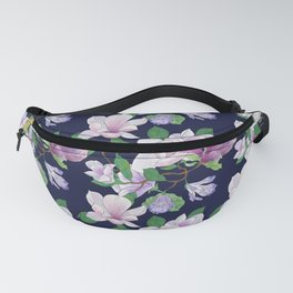 Magnolia Floral Frenzy Fanny Pack