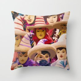 Schnoerkele Throw Pillow