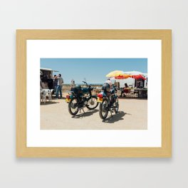 Road-trip Framed Art Print
