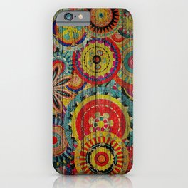 Kashmir on Wood 01 iPhone Case