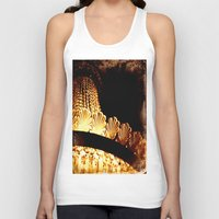 chandelier Tank Tops featuring vintage chandelier by helene smith photography