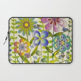Petty Flowers Pattern 2 Laptop Sleeve