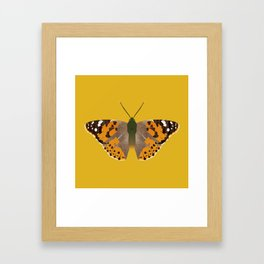 Painted Lady Butterfly Framed Art Print