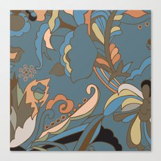 Modern Abstract Shapes Canvas Print