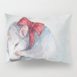 Rat bow Pillow Sham