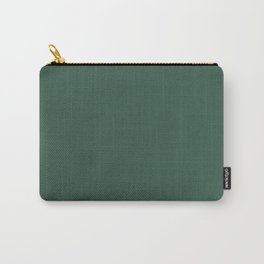 OLYMPIC BILLARD GREEN Deep solid color Carry-All Pouch