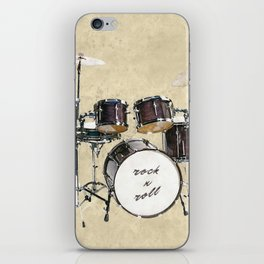 Drumkit iPhone Skin