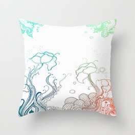 it all seemed like a fantastical land to me Throw Pillow