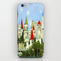 las vegas iPhone & iPod Skins featuring Vegas by Peaky40