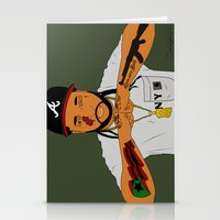 asap rocky Stationery Cards featuring ASAP Yams by ashakyetra