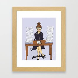 Swamped Framed Art Print