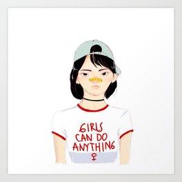 Min Yoonji Art Print