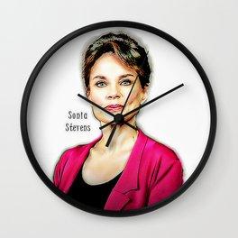 Sonia Stevens Wall Clock