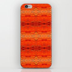 Orange Aztec Pattern 2 iPhone & iPod Skin