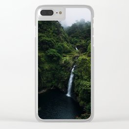 Road to Hana 2 Clear iPhone Case