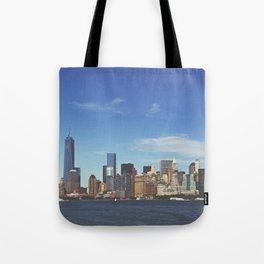 Manhattan Skyline Tote Bag