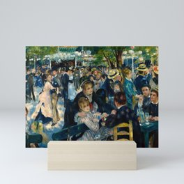 Renoir - Dance at Le Moulin de la Galette Mini Art Print