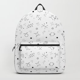 Reversed Zodiac Constellation Backpack
