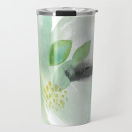 Summer Air Abstract Travel Mug