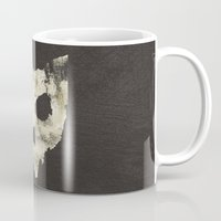 ohio Mugs featuring Ohio Skull by Will Ruocco