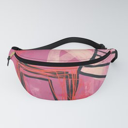 pinch me - abstract painting Fanny Pack
