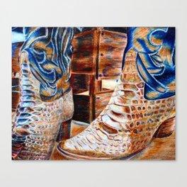 Rodeo Still Life Canvas Print