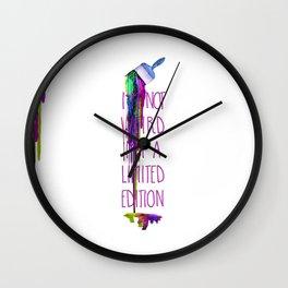 I'm Not Weird Wall Clock