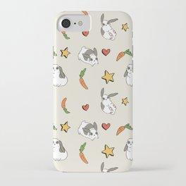 Pierre Pattern grey iPhone Case