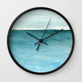Calm sea 1985 Wall Clock