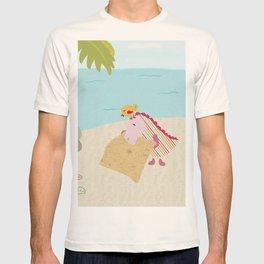 Loezelot on a remote island T-shirt
