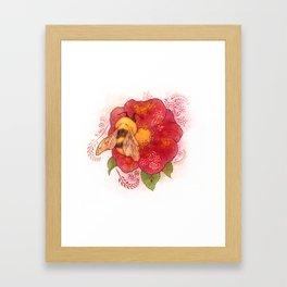 Pollinator Animals- Bumble Bee Framed Art Print