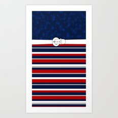 Stars and Stripes Art Print