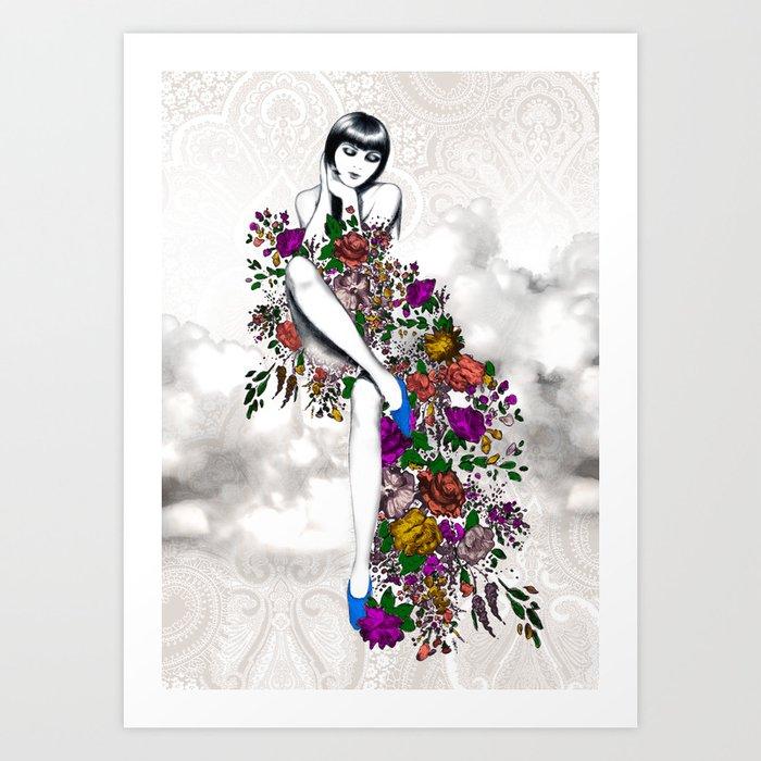 Garden Dress Art Print