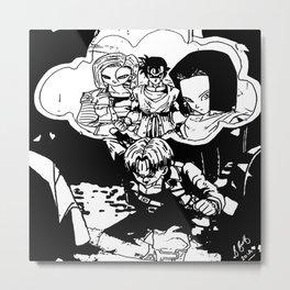 Trunks Nightmare Metal Print