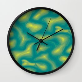 Fava Lava Wall Clock