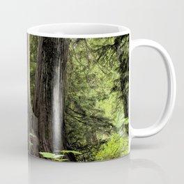 Ancient Cedar Forest Coffee Mug