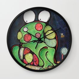 Monsieur Crapaud Wall Clock