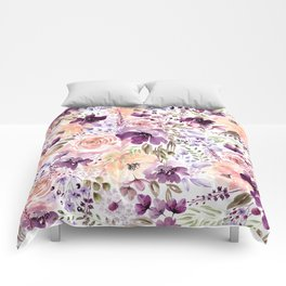 Floral Chaos Comforters